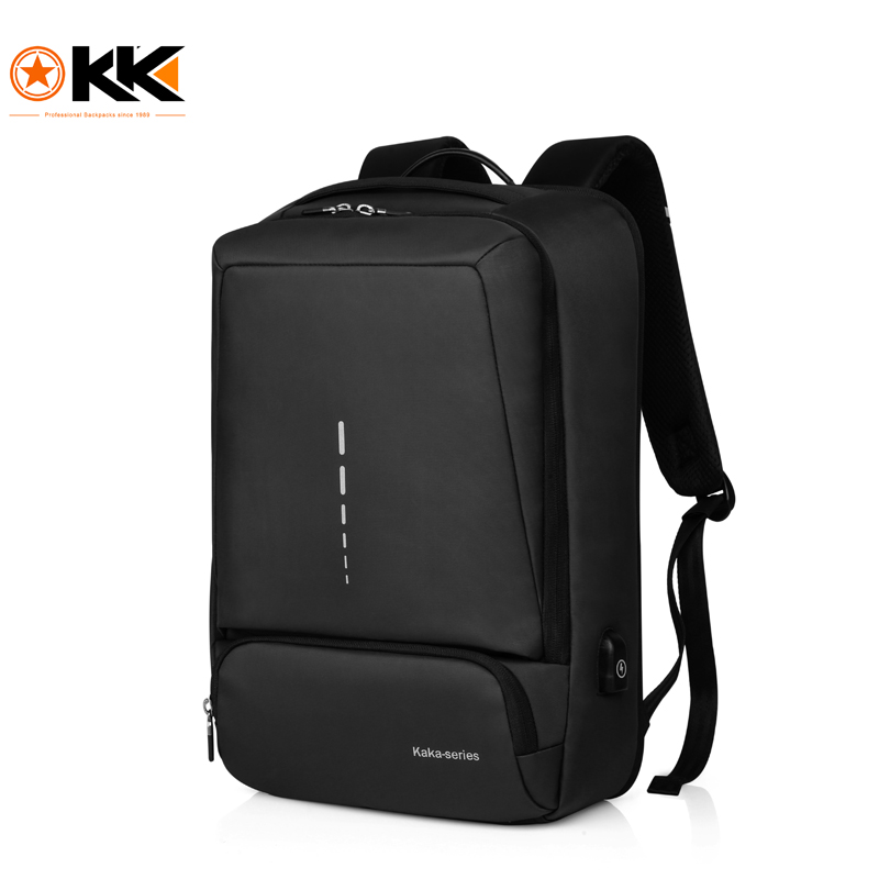 KAKA Brand Casual Unisex Backpack Man Business Pack Teenager School Student Book Bag Large Capacity Pack for 15.6 inch' Laptop large capacity casual man backpack