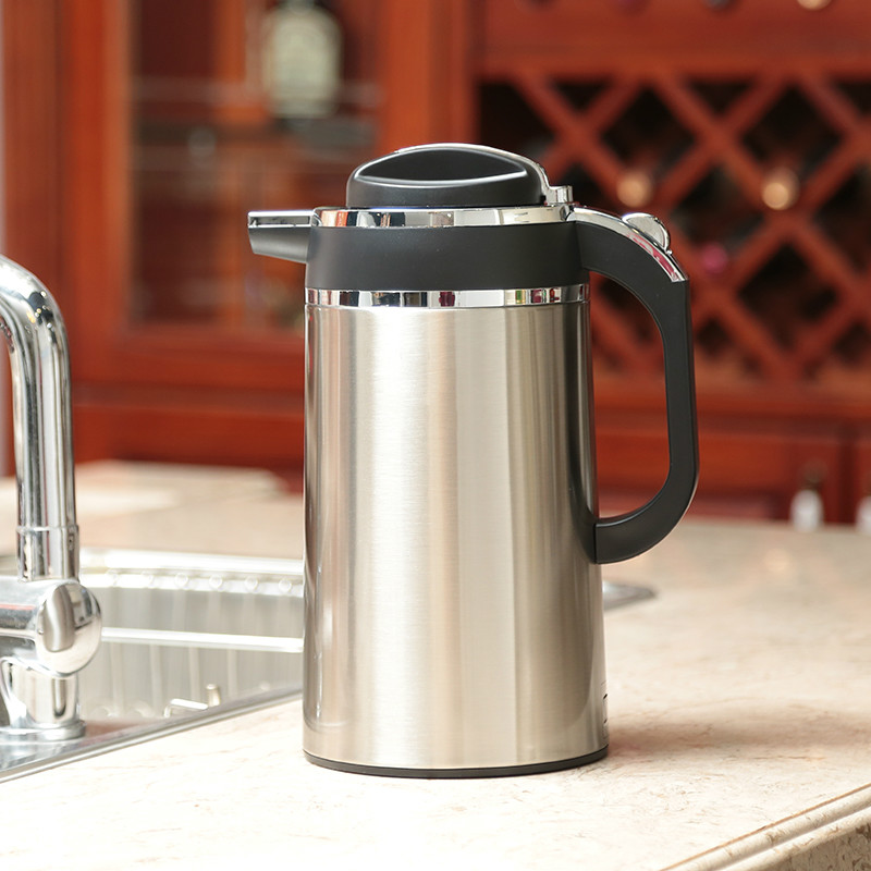 лучшая цена Electric kettle Boiler 2L electric 304 stainless steel insulated Safety Auto-Off Function