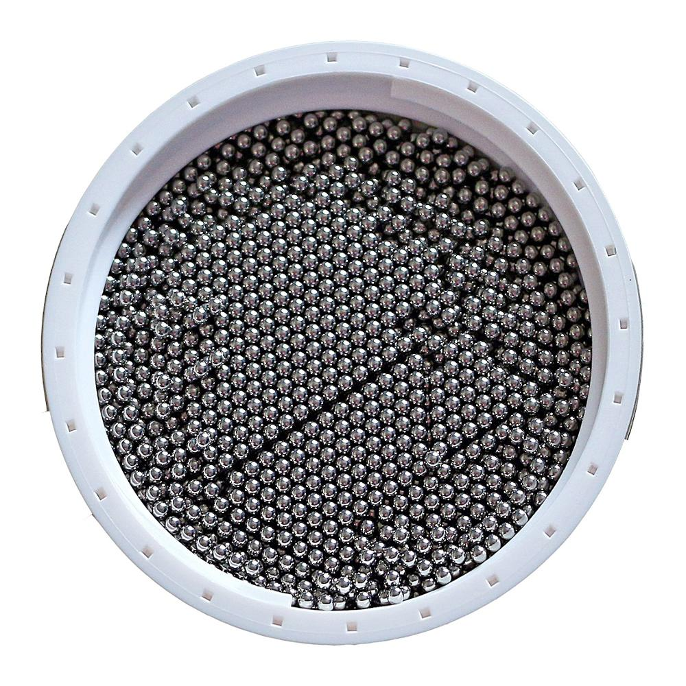 1/16'' Inch ( 1.588mm ) 100 PCS G10 440C Stainless Steel Balls For Precision Bearings,  Special Valves, Conveyor Belts And Rolle