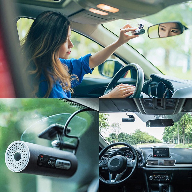 70 Minutes Smart C ar Camera Voice Control WiFi 130 Degree Car Cam 1080P Full HD Night Version Driving Recorder Smart Cam 3