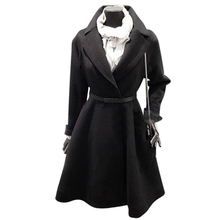 Black trench coat dress online shopping-the world largest black ...