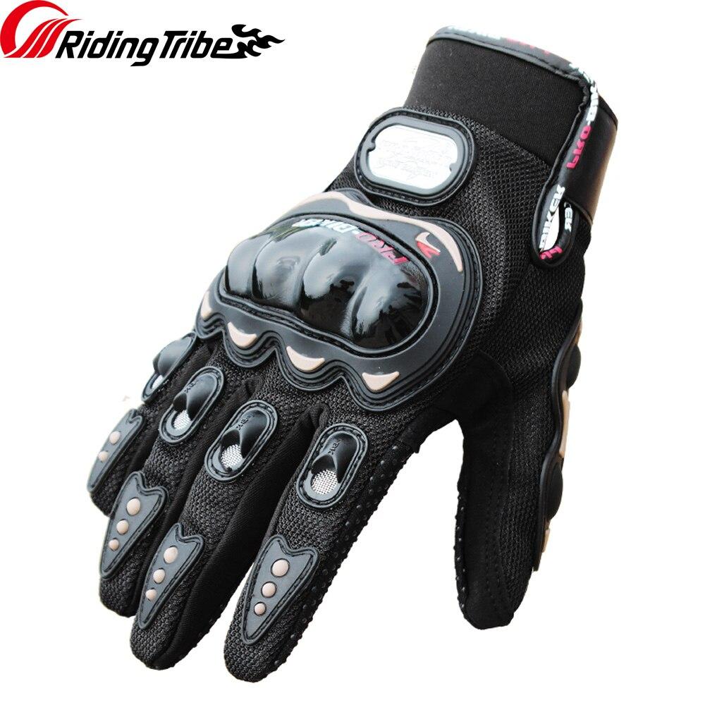 Reiten Tribe Sommer Motorrad Handschuhe Atmungs Touchscreen Schutz Getriebe Motobike Racing Non-skid Mann der Guantes MCS-01C