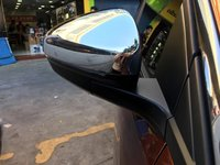 Para peugeot 4008 2016-2020 ABS cromo retrovisor 2 uds