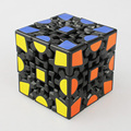 X-Cube Magic Gear Cube Puzzle 3x3x3 Black and White Twist Puzzle Cubo Magico Child Grownups Brain Teaser Educational Toy