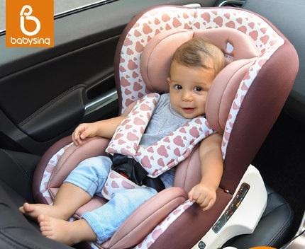 5 COLORES --- Babysing lujo Asiento de Coche de seguridad para Niños, Asiento de Seguridad Infantil adecuado para 0-4 Años de matrimonio ensamble dirección