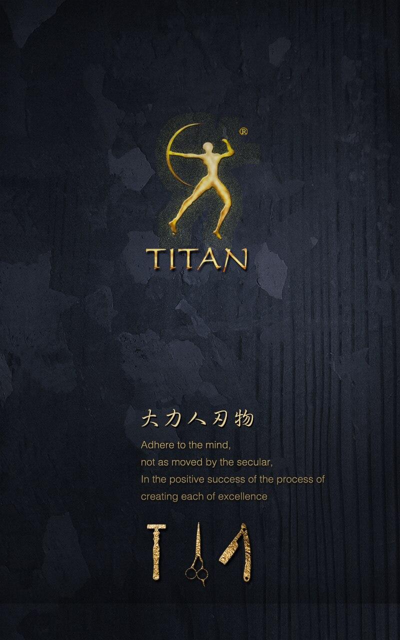 Titan barbeiro stianless aço vg10 feito à