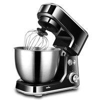 Блендеры торт смеситель кухонная техника Электрический 4L нержавеющая сталь еда яичный блендер месить тесто Яйцо перемешивающая машина