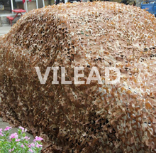 free shipping 1.5*2m dsert woodland leaves camouflage camo net for awnings military cloth wall sticker protecting
