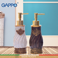 GAPPO liquid soap dispensers soaps pumps imported resin Bottles Bath resin Bathroom accessories soap pump dispensers