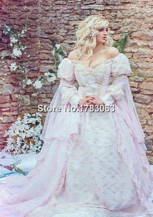 New! Sleeping Beauty Fantasy Princess Gown Custom All Size