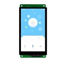 DMG85480C050_03W 5 polegada tela de série tela DGUS 24 bits de cor tela IPS tela Inteligente
