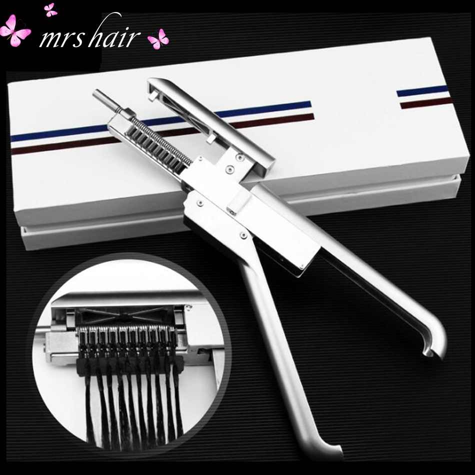 Pro 6D Hair Extension Machine/High End 6D hair connector wig Quick Extension Salon Tool No-trace Hair Extension Connectors