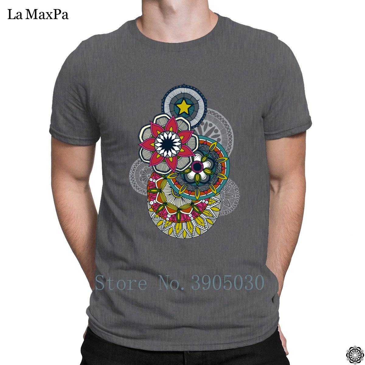 c811044762fc1 Designs Original Homme Mens T Shirt Mandala Cirque Festival T Shirt New  Arrival Tshirt Man Slogan Big Sizes Tee Shirt Graphic-in T-Shirts from  Men s ...