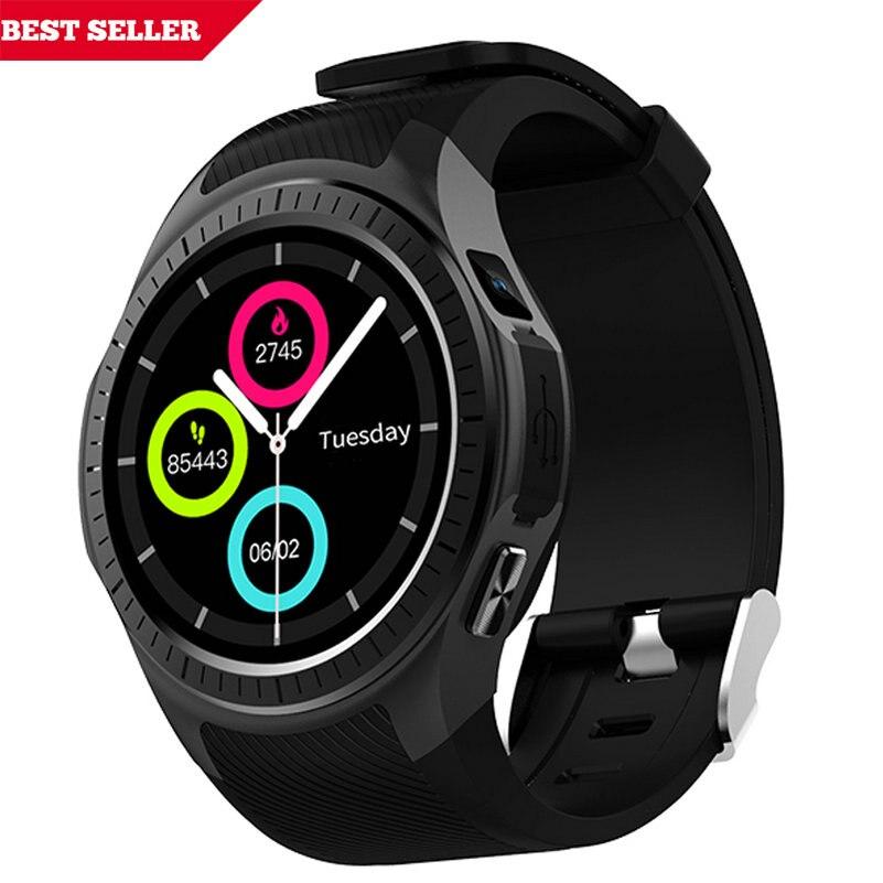 Bluetooth Montre Smart Watch L1 Téléphone Pleine Ronde Cercle Poignet Smartwatch MTK2502 APK pour Apple iPhone 6 6 S android pour samsung s5 s7 s4