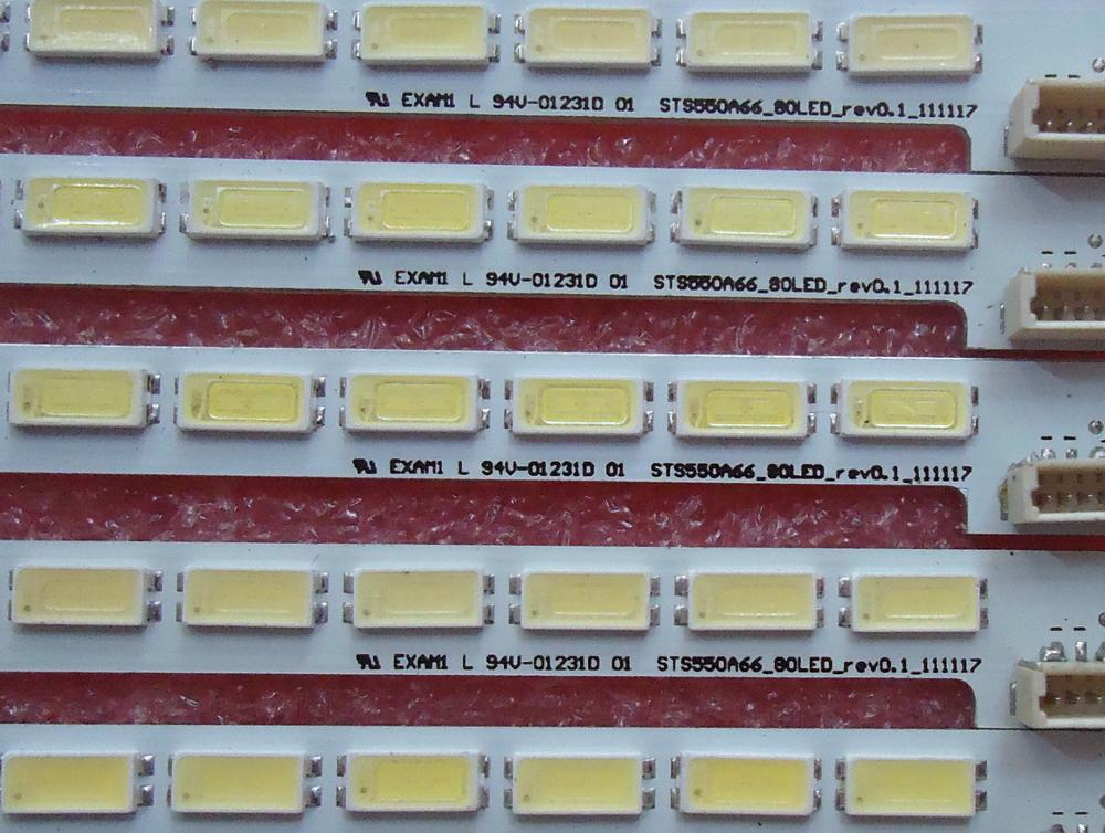 LTA550HQ22 550HQ20 HQ16 Article Lamp LJ64-03515A STS550A66_80LED_ 1piece=80LED 676MM