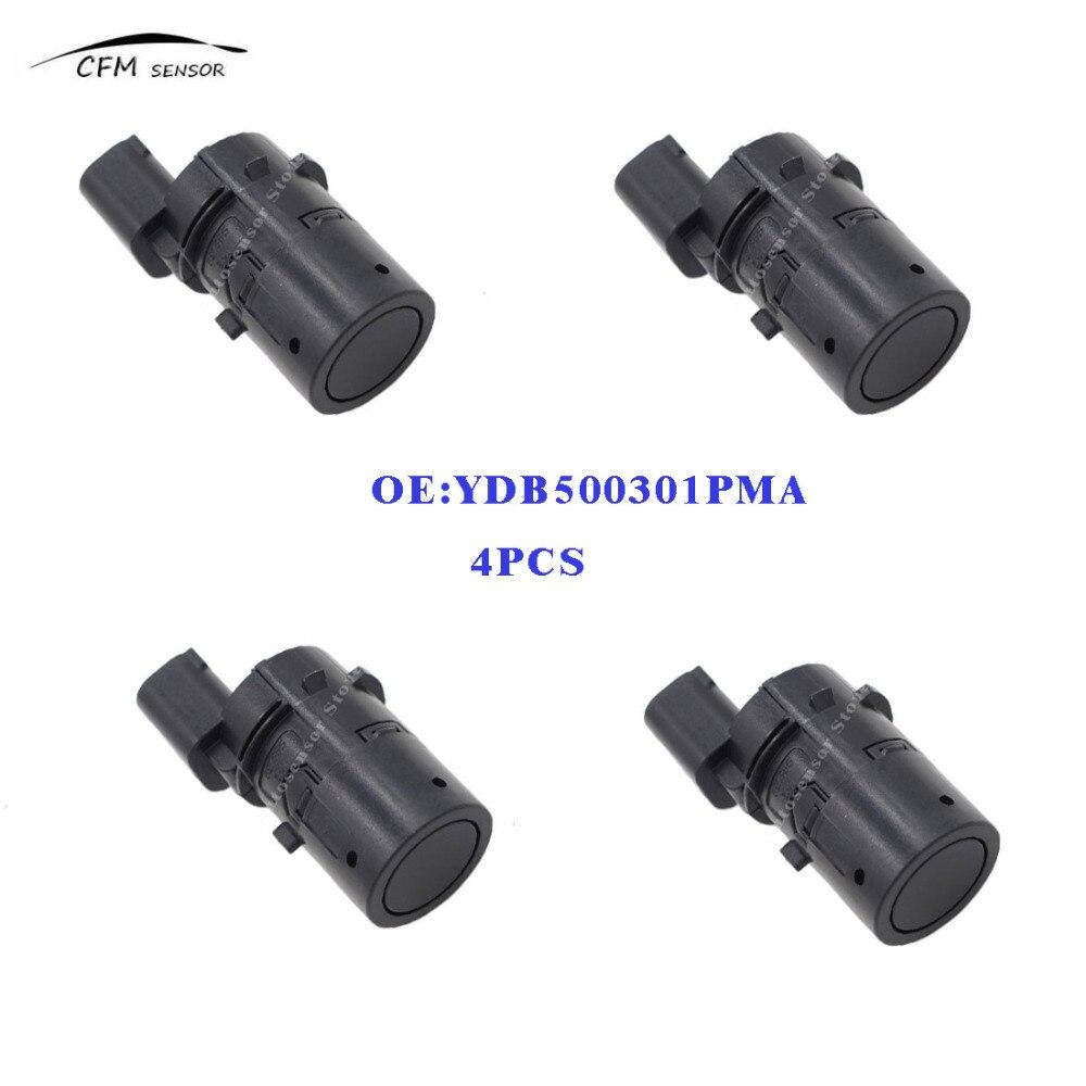 4 pcs YDB500301PMA Avant Arrière PDC Parking Capteurs 66206989069 YDB500301 pour 2003-2012 Land Rover Discovery 3 Freelander Gamme