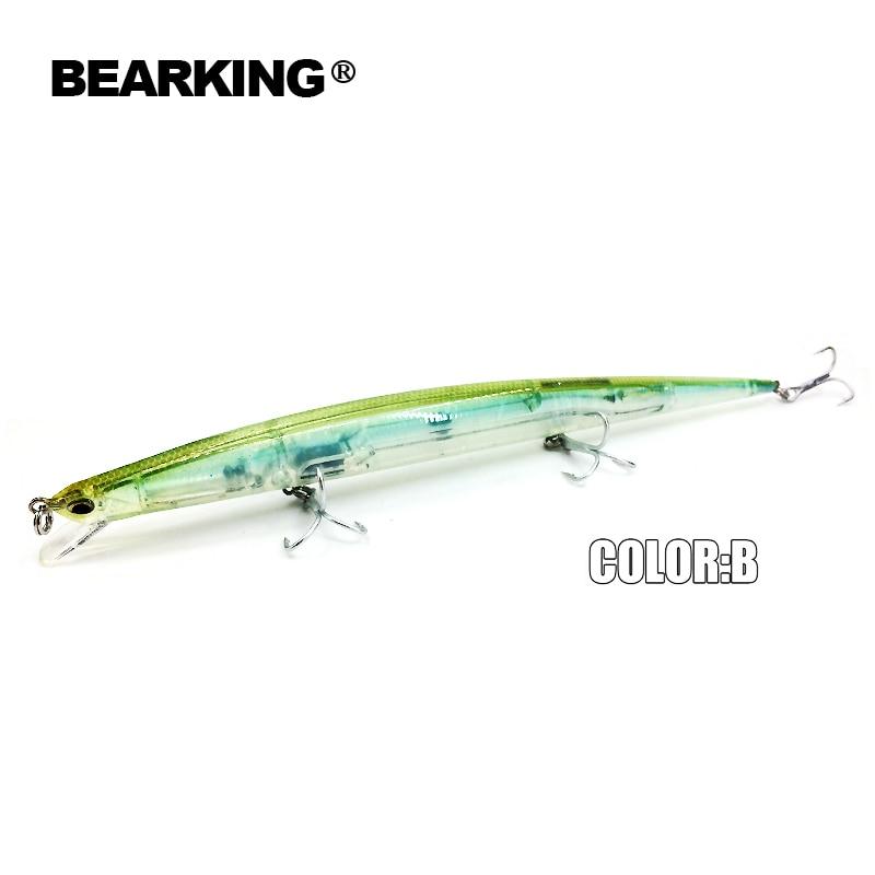 Bearking Brand M57 señuelos de pesca dura Minnow 5Pcs / Lot 20cm 27g - Pescando - foto 3