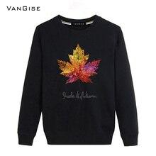 VanGise 2017 New Autumn winter hoodies men brand font b clothing b font fashion sweatshirt font