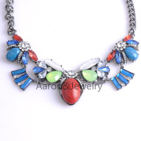 Fashion Vintage Jewelry Women Collar Bohemia Charms Cute Crystal Necklaces Pendants Casual Accessories Factory Wholesale