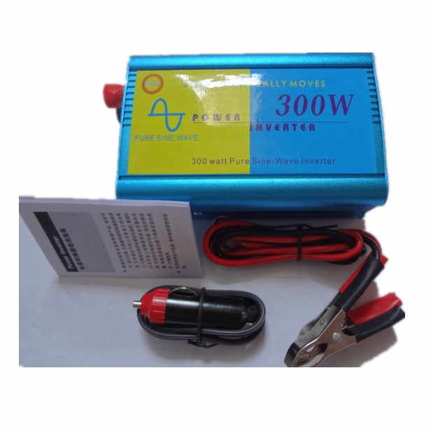 Inversor 24 V 220 V 300 W inversor de onda sinusoidal pura solar inverte potencia entrada 24 V salida 220 V venta caliente
