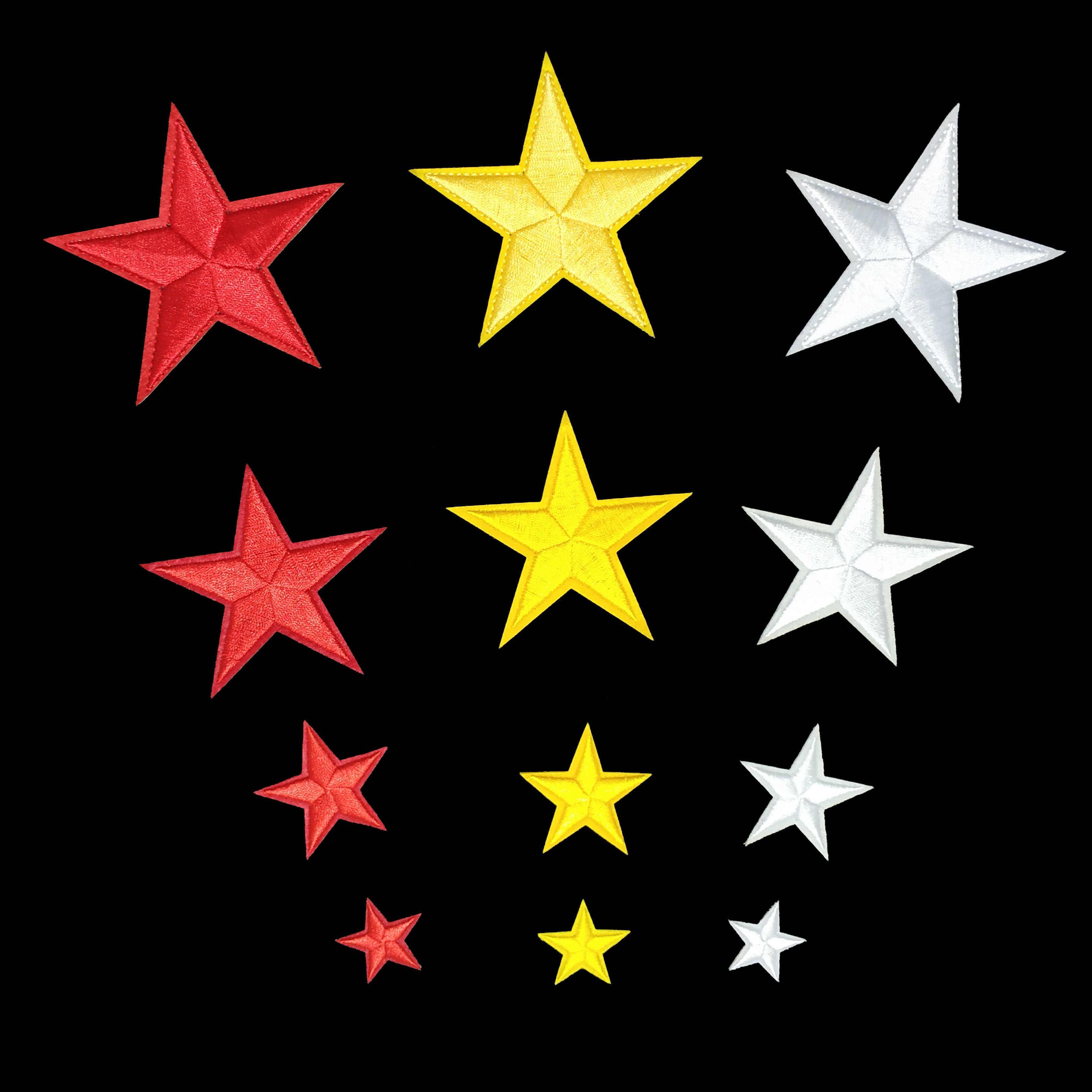 Hollanda kurbağa karnaval sarı kırmızı beyaz yıldız yama giyim demir on İşlemeli dikiş aplike yama rozeti