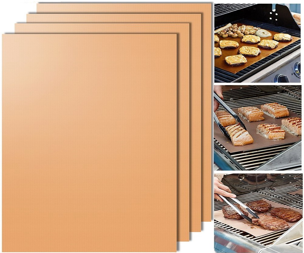 33 40cm Copper Chef Bbq Grill Bake Nonstick Baking High