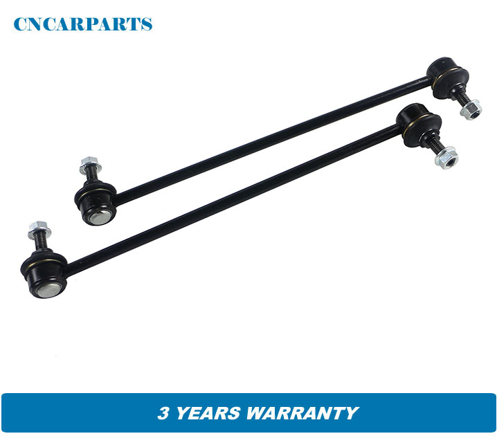 508745 2 FRONT STABILIZER ANTI ROLL SWAY BAR DROP LINK ROD FOR PEUGEOT 206