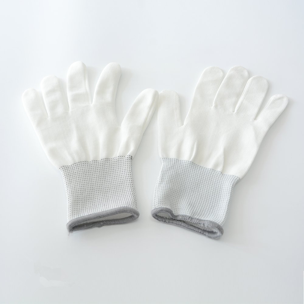 Vinyl Anti-static Window Car Wrap Gloves 1 Pair Tinting Work Gloves Nylon Carbon Fiber Stickers Install Tool Vinyl