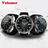 Volemer DI01 Смарт часы 1 ГБ/16 г Android 5,1 монитор сердечного ритма IP67 Поддержка 3G Wi Fi gps sim карты MTK6580 Smartwatch Android IOS