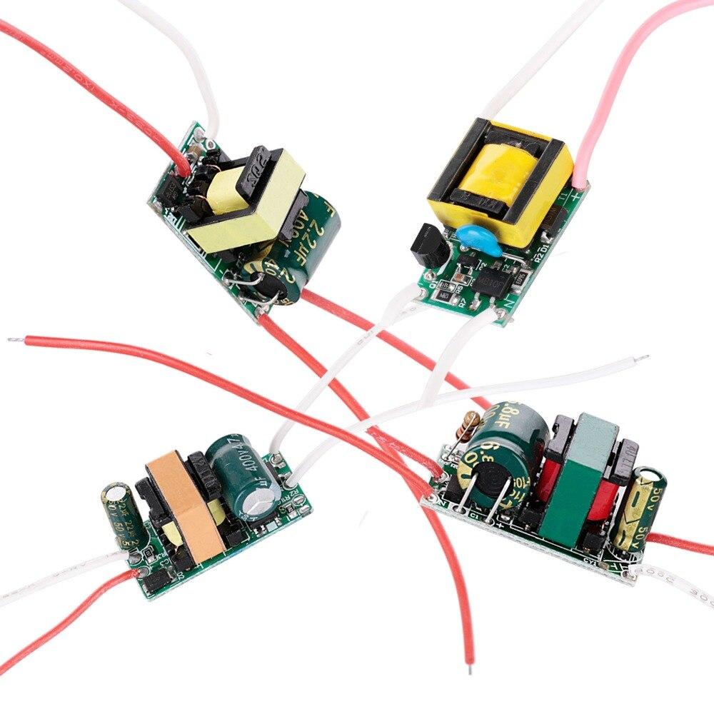 LED Driver 300mA 280mA 3W 4W 5W 7W For LEDs Power Supply Unit AC90-265V Lighting Transformers For DIY LED Power Lights