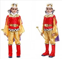halloween costume for kids Halloween cosplay costume male children's stage costume classic prince performance suit