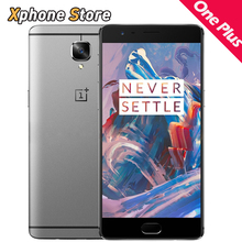 OnePlus 3 5.5 дюймов Android 6.0 64 ГБ ROM 6 ГБ ОПЕРАТИВНОЙ ПАМЯТИ смартфон Snapdragon 820 Quad Core Dual SIM 16.0MP FDD-LTE Мобильный телефон(China (Mainland))