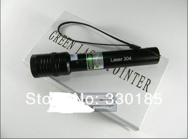 Wholesale - focusable high power Military green laser pointers 5000mw 5w 532nm Burning match/burn cigarettes+charger+gift box