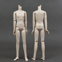 No makeup Doll body /with 20 joint movable /for Xinyi boyfriend Prince Barbie Boy Bridegroom Ken Doll Birthday Gift Baby Toy