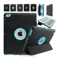 Case For Apple IPad 2 3 4 Heavy Duty Silicone Release Leather Smart Auto Wake Up