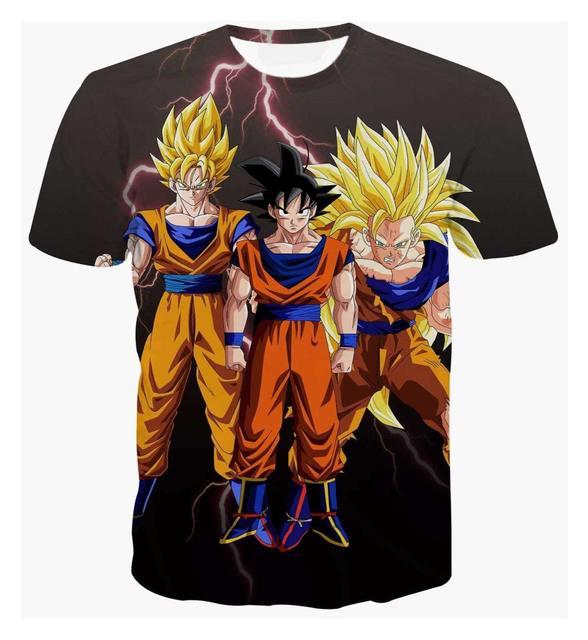 Dragon Ball Z Goku Vegeta 3D Tshirt