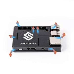 Image 3 - SunFounder Raspberry Pi 3B+, 3, 2, 1B+ Enclosure Metal Case with Heat Dissipation Silica Pad Raspberri pi 3 B+ Case