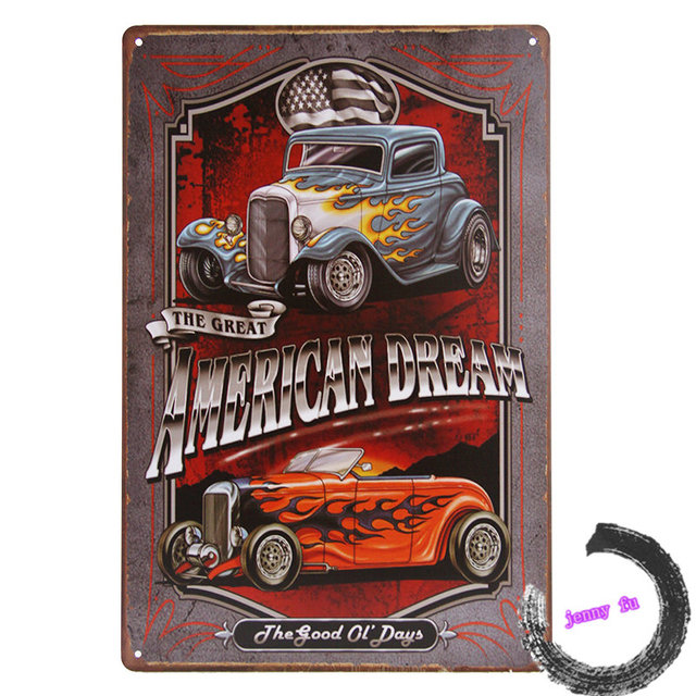 """American Dream"" Legends, Classic convertible for the Man Cave/Garage I1"