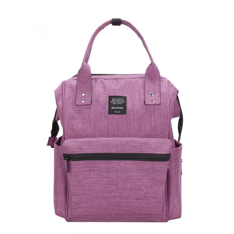 2018 Modern Style Mommy Nappy Diaper Bag 5 Colors Baby Bag Women Backpack For Newfant Kids Durable High Capacity Maternity Bag