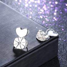 BOAKO Fashion S925 Sterling Silver Earring Backs Support Hypoallergenic Earrings Lift Lifters Fits All Post Earrings Backs Z4