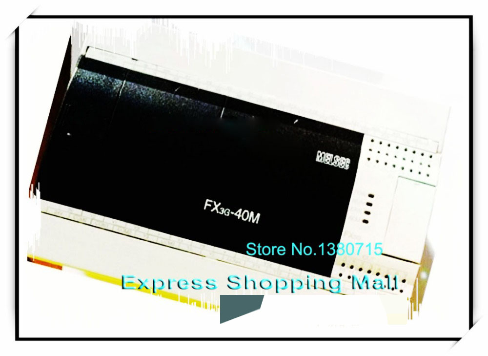 New Original FX3G-40MT/ES-A PLC Main Unit DI 24 DO 16 Transistor 100 to 240V AC new original unit 16 di 16 do transistor plc controller fx2n 32et