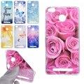 Rose Sunflower Design Soft TPU Cover sFor Xiaomi redmi 3S Cases redmi 3 pro 3 S Case Fashion Transparent Cell Phone Case
