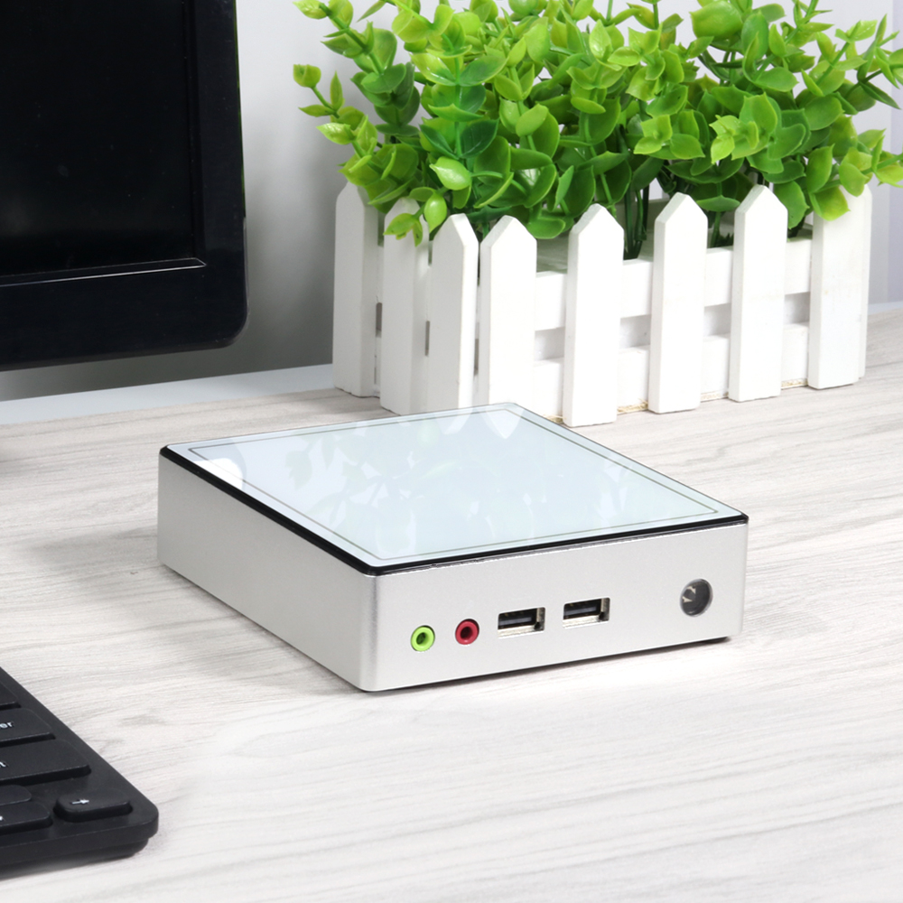 Ultra compact Mini PC X37 Intel Celeron 2955U processor, compatible with DDR3L memory and mSATA SSD