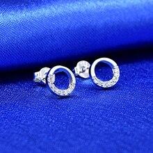 цена на Fashion Women Earrings 2019 Vintage Rhinestone Earrings For Women Jewelry Accessories Cute Geometric Earrings boucle d'oreille
