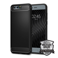 100 Original Rugged Armor Huawei Honor 9 Case Shock Absorption And Carbon Fiber Design Flexible TPU