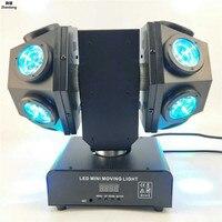4 в 1 ламповый лазерный свет 12 пучков сильный полноцветный луч сценический движущийся головной свет применяется для бара KTV день рождения се