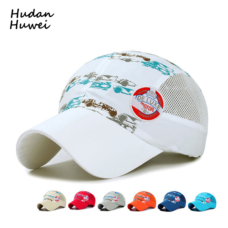 Summer Children Sun Caps Dry Fit Soft Light Weight Foldable Baseball Cap Without Top Botton Cool Running Hat Outdoor Sports Cap