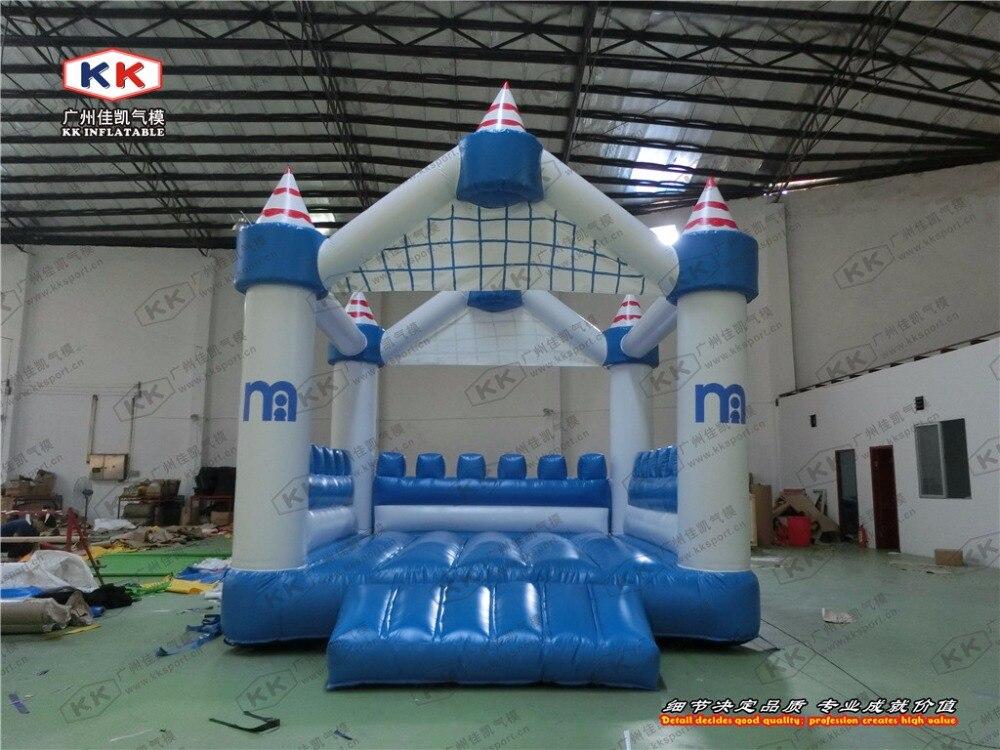 inflatable blue sky mini font b bouncer b font inflatable small size font b bouncer b