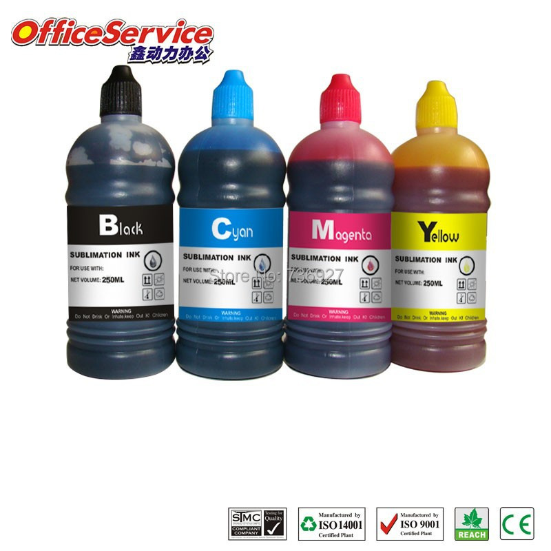4X500ML GC41 GC31 GC21 Universal Sublimation Ink For RICOH SG 3110DNw 7100DN GX 5000 3000 e2600
