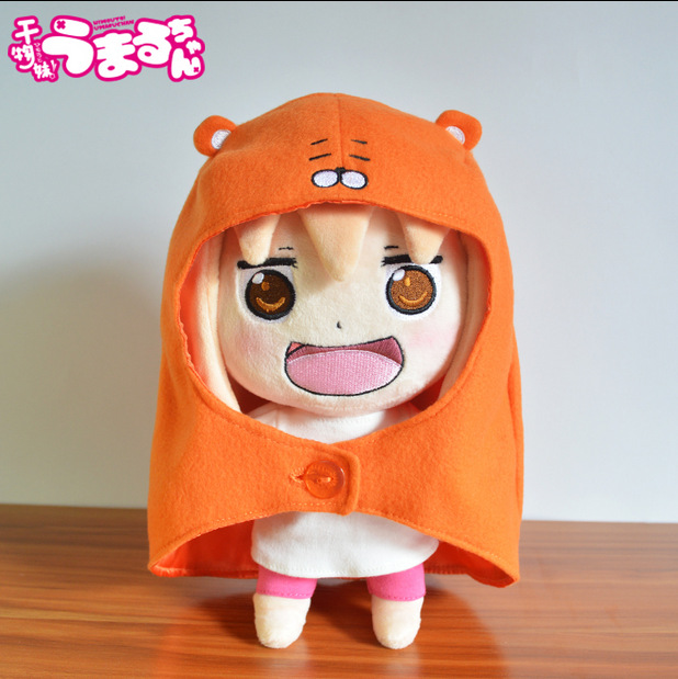 Anime Sankaku Head Himouto! Umaru-chan Umaru Doma Figures Soft Plush Doll toy Children's gifts Free Shipping anime himouto umaru chan umaru doma casual dance pants lovely fashion school backpacks for girls canvas